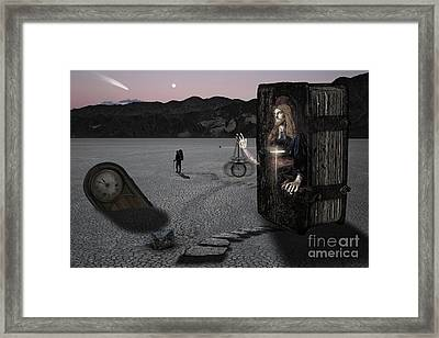 5 Minutes Til Midnight Framed Print by Keith Kapple