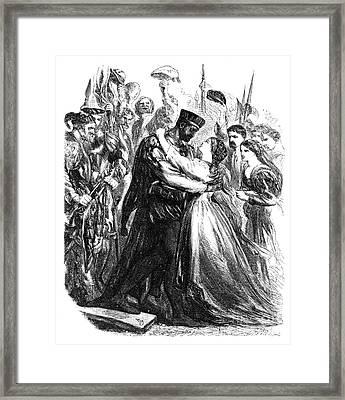 Shakespeare: Othello Framed Print by Granger