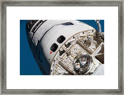 Space Shuttle Atlantis Framed Print by Stocktrek Images
