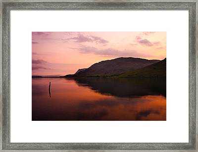 Sunset Framed Print by Svetlana Sewell