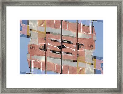 Urban Abstract San Diego Framed Print by Carol Leigh