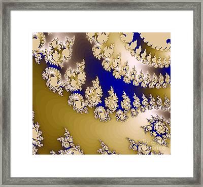 Fractal Framed Print by Odon Czintos