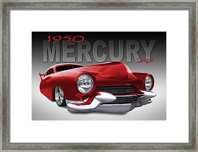 50 Mercury Lowrider Framed Print by Mike McGlothlen