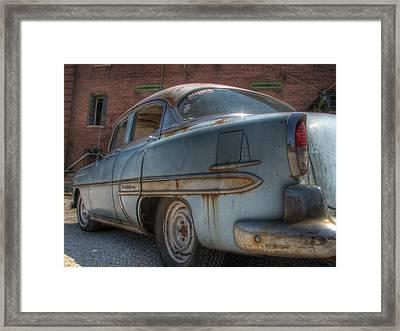 '52 Chevy Bel Air Framed Print by Jane Linders