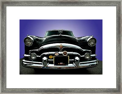 54 Packard Framed Print by Paul Barkevich