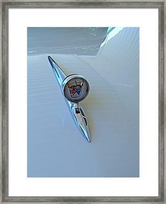 57 Fairlane 500 Emblem Framed Print by Nick Kloepping