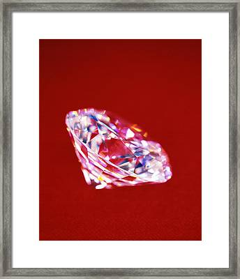 Diamond Framed Print by Lawrence Lawry