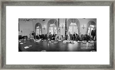 Gerald Ford (1913-2006) Framed Print by Granger