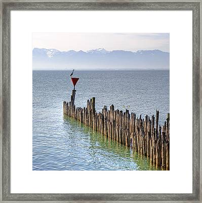 Lake Constance Framed Print by Joana Kruse