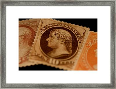Magnification Of Classic 19th Century Framed Print by Phil Schermeister