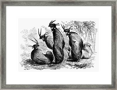 Scottish Games, 1867 Framed Print by Granger