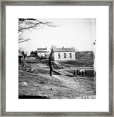 Civil War: Bull Run, 1861 Framed Print by Granger