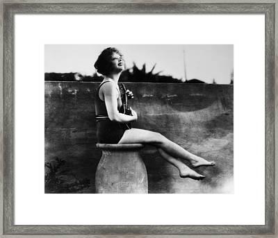 Clara Bow (1905-1965) Framed Print by Granger