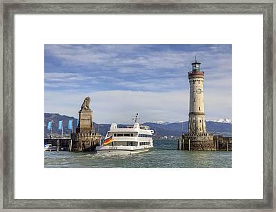 Lindau Framed Print by Joana Kruse