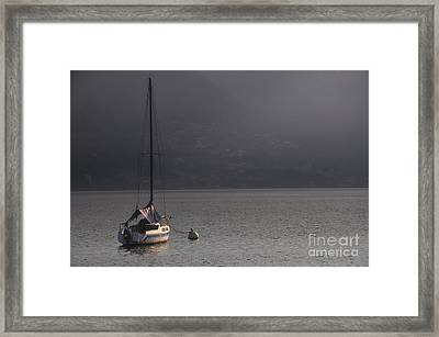 Sailing Boat Framed Print by Mats Silvan