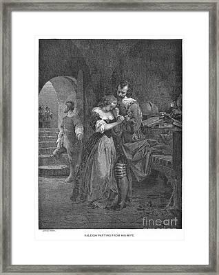 Sir Walter Raleigh Framed Print by Granger