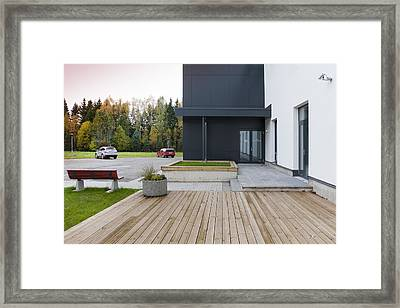 The Toravere Astronomical Observatory Framed Print by Jaak Nilson