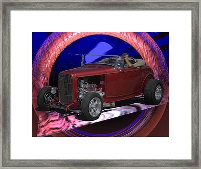 755 Wicked Wheels Framed Print by Scott Bishop