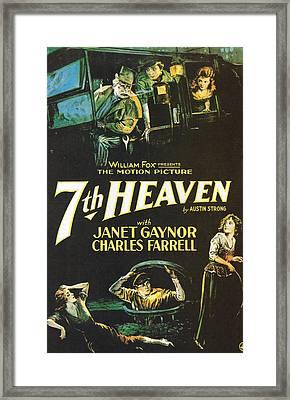 7th Heaven Framed Print by Georgia Fowler