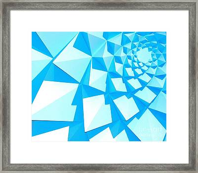 Architectural Series  Framed Print by Terry Troupe