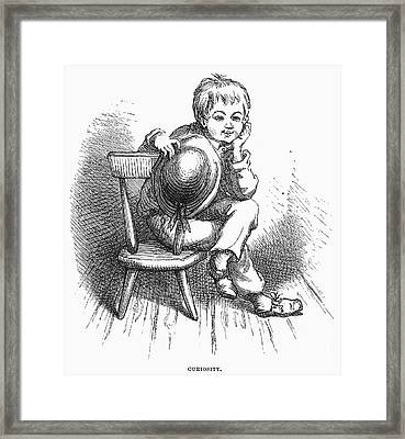 Children: Types Framed Print by Granger