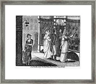 Franklin: Way To Wealth Framed Print by Granger