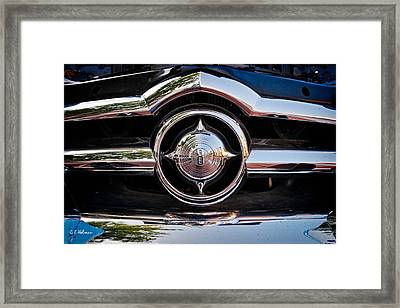 8 In Chrome Framed Print by Christopher Holmes