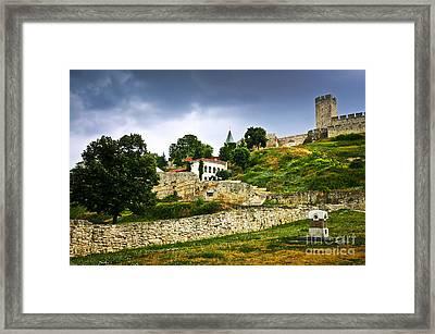 Kalemegdan Fortress In Belgrade Framed Print by Elena Elisseeva