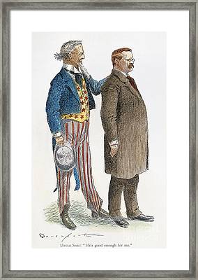 Presidential Campaign, 1904 Framed Print by Granger