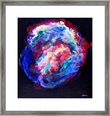 Remnants Of Kepler's Supernova Framed Print by Jim Ellis