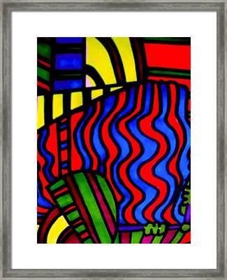 She Comes In Colors Framed Print by Allen n Lehman