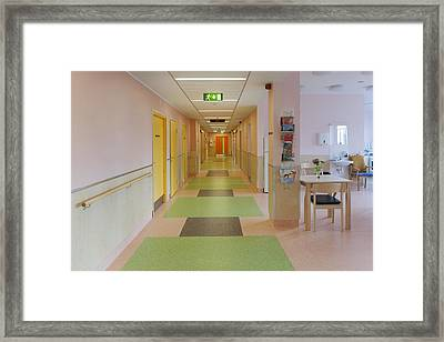 The Nursing Centre A Building In P�rnu Framed Print by Jaak Nilson