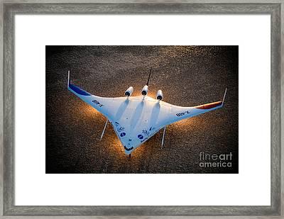 X48b Blended Wing Body Framed Print by Nasa