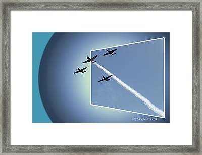 8027 Letting Off Steam Framed Print by EricaMaxine  Price