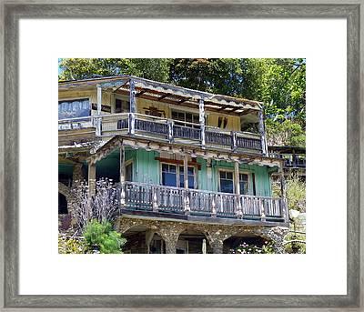 881 Nitwit Ridge Framed Print by Carla Parris