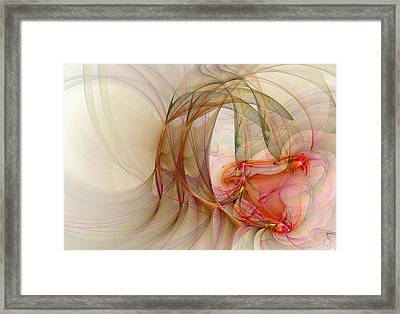 893 Framed Print by Lar Matre