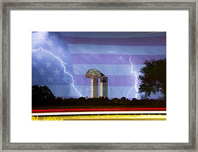 9-11 We Will Never Forget 2011 Framed Print by James BO  Insogna