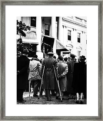 Franklin D. Roosevelt Framed Print by Granger
