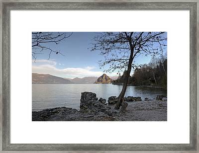 Lake Maggiore Framed Print by Joana Kruse