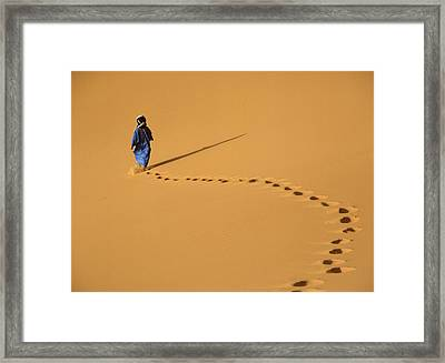 Merzouga, Morocco Framed Print by Axiom Photographic