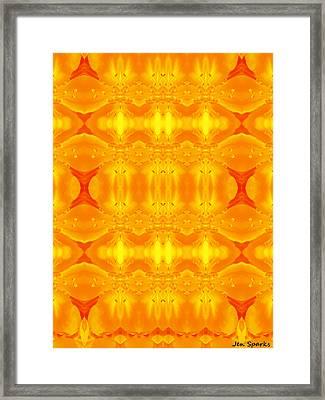 A Brighter Day Framed Print by Jen Sparks
