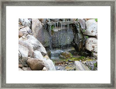A Calm Mindset  Framed Print by Mike Stouffer