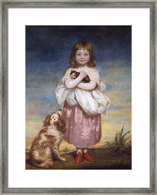 A Child Framed Print by James Northcore