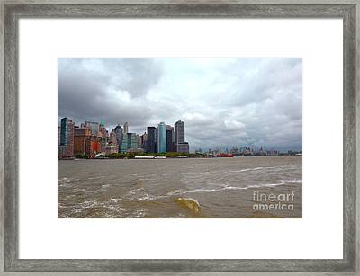 A Cloudy Day Framed Print by Pravine Chester