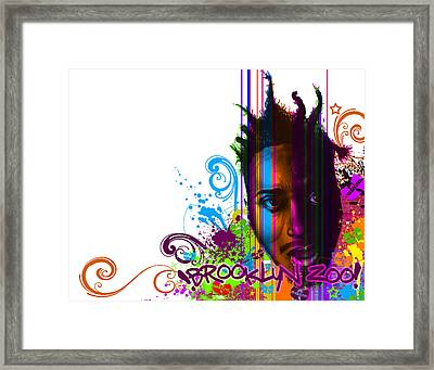 A Colorful Bastard Framed Print by Lee Appleby