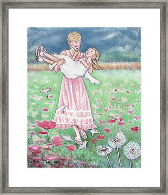 A Day To Remember Framed Print by Carol OMalley