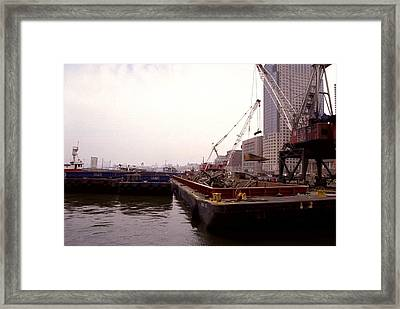 A Few Blocks From Ground Zero Heavy Framed Print by Everett