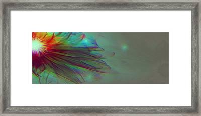 A Flower For You Framed Print by Li   van Saathoff