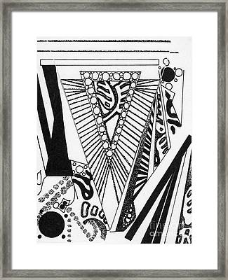 A Gift Framed Print by Christine Perry