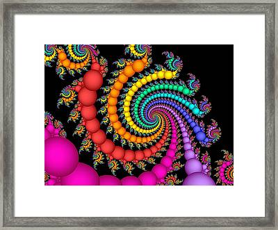 A Gift Of Pearls Framed Print by Pam Blackstone